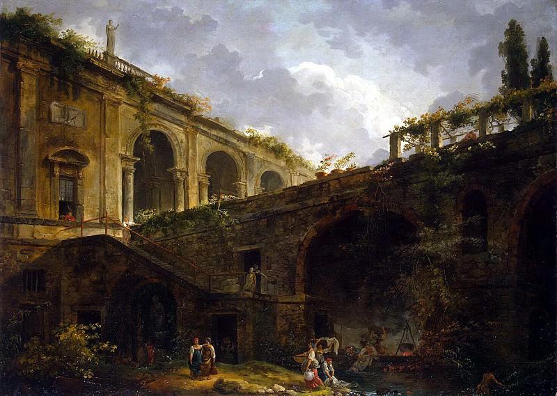 Robert, Hubert - Villa Madama near Rome. Hermitage ~ part 10
