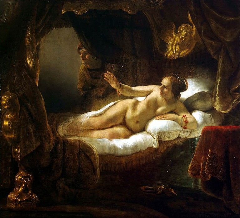 Rembrandt, Harmenszoon van Rijn - Danae. Hermitage ~ part 10