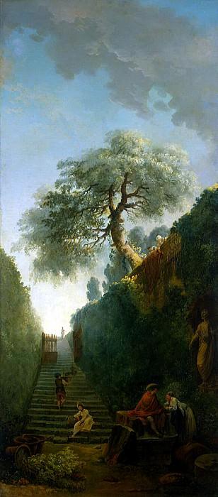 Robert, Hubert - Green Wall. Hermitage ~ part 10