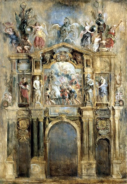 Rubens, Peter Paul - Arch of Ferdinand. Hermitage ~ part 10