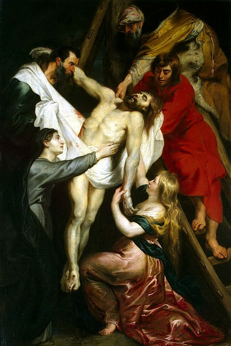 Descent from the Cross. Peter Paul Rubens