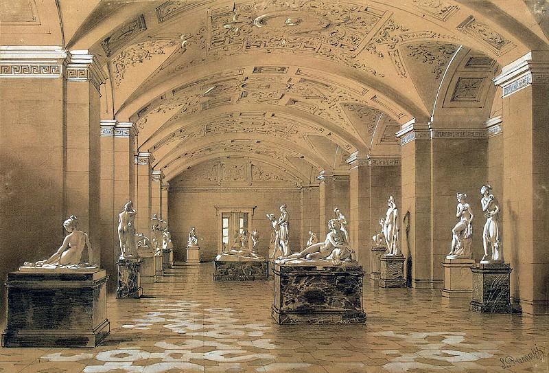 Premazzi, Luigi - Types halls of the New Hermitage. Hall of Contemporary Sculpture (2). Hermitage ~ part 10