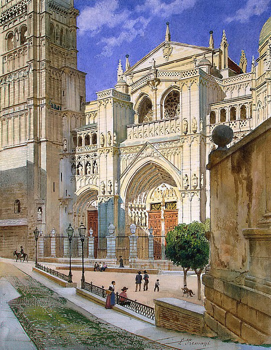 Premazzi, Luigi - Cathedral of Toledo. Hermitage ~ part 10