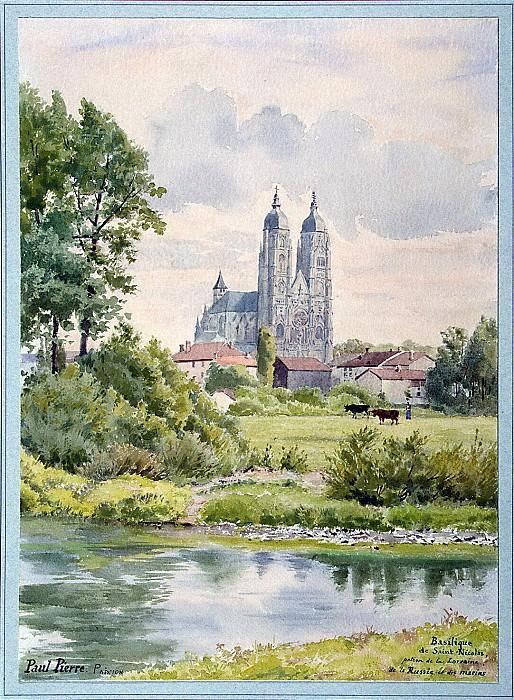 Пьер, Поль - Вид на базилику Святого Николая. Эрмитаж ~ часть 10