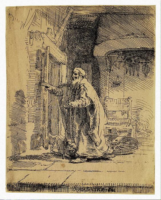 Rembrandt, Harmenszoon van Rijn - The Blind Tobit. Hermitage ~ part 10