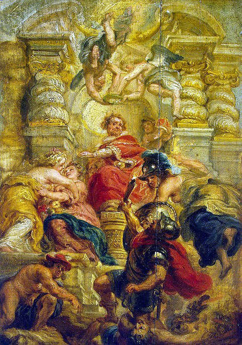 The peaceful reign of James I. Peter Paul Rubens