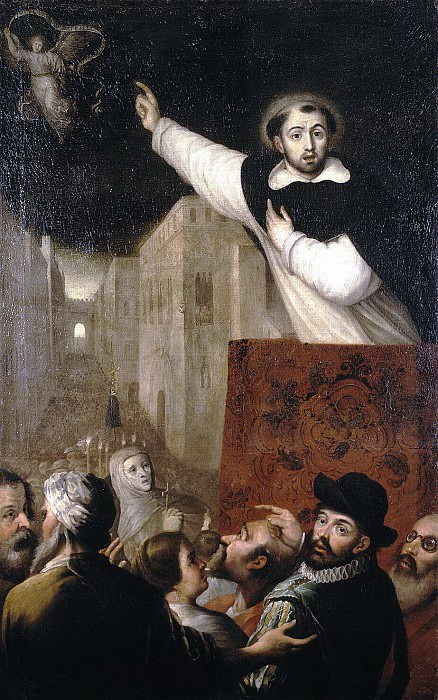 Ribalta, Francisco - Sermon San Vicente Ferrer. Hermitage ~ part 10