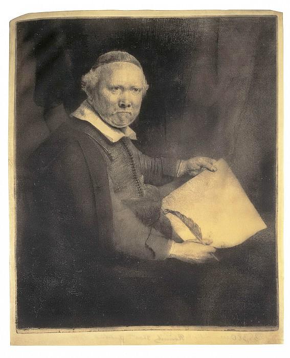 Rembrandt, Harmenszoon van Rijn - Portrait of Lieven Willems van Koppenola. Hermitage ~ part 10