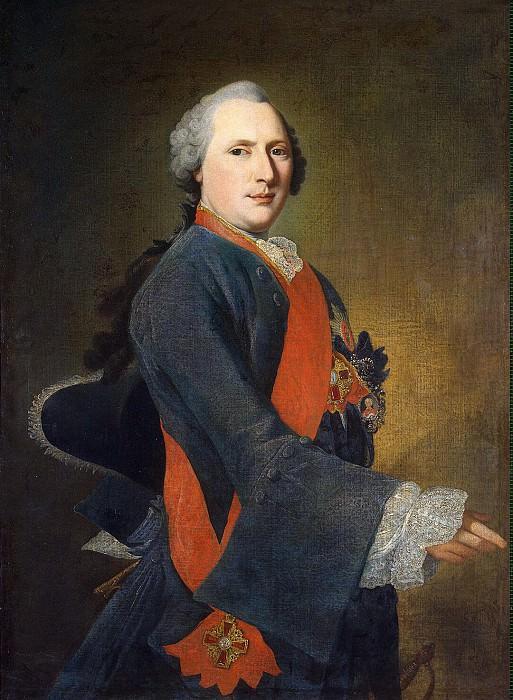 Prenner, Georg Caspar von - Portrait of Marshal Karl E. Sievers. Hermitage ~ part 10