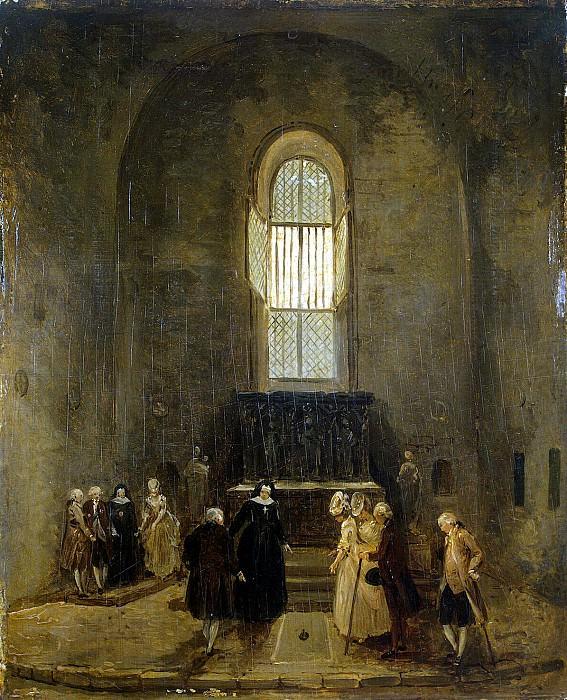 Robert, Hubert - View of old church. Hermitage ~ part 10