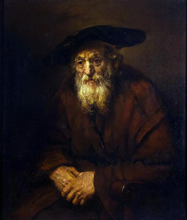Rembrandt, Harmenszoon van Rijn - Portrait of an old Jew. Hermitage ~ part 10