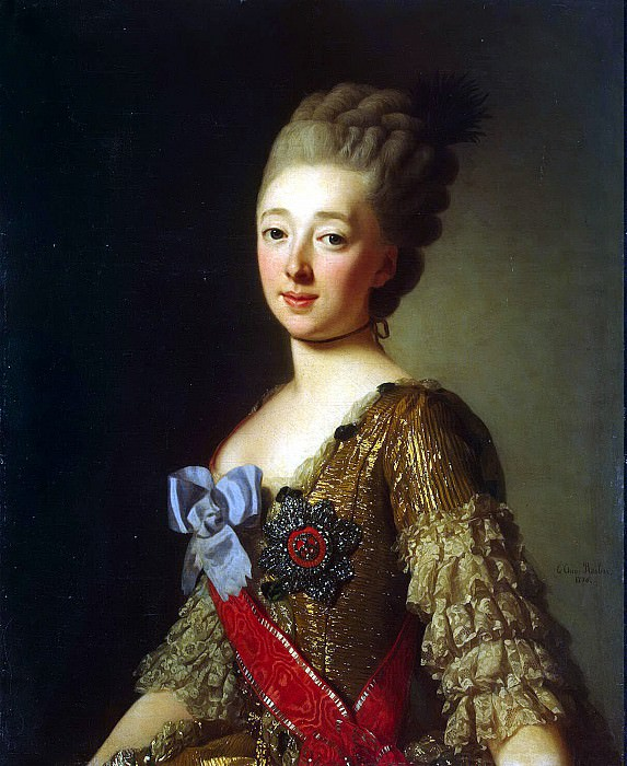 Roslin, Alexander - Portrait of Grand Duchess Natalia Alexeyevna. Hermitage ~ part 10
