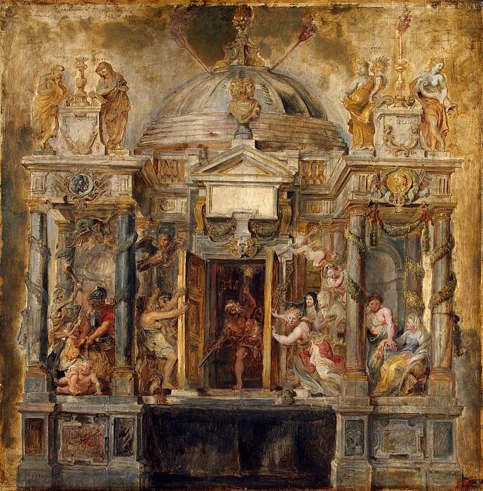 Temple of Janus. Peter Paul Rubens