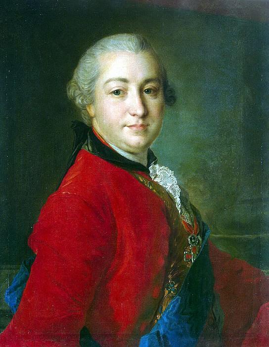 Rokotov, Fyodor Stepanovich - Portrait of Ivan Ivanovitch Shuvalov. Hermitage ~ part 10