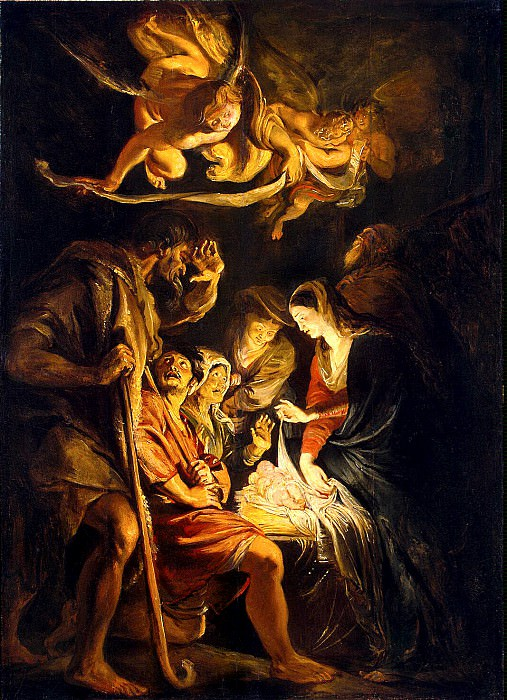 The Adoration of the Shepherds. Peter Paul Rubens