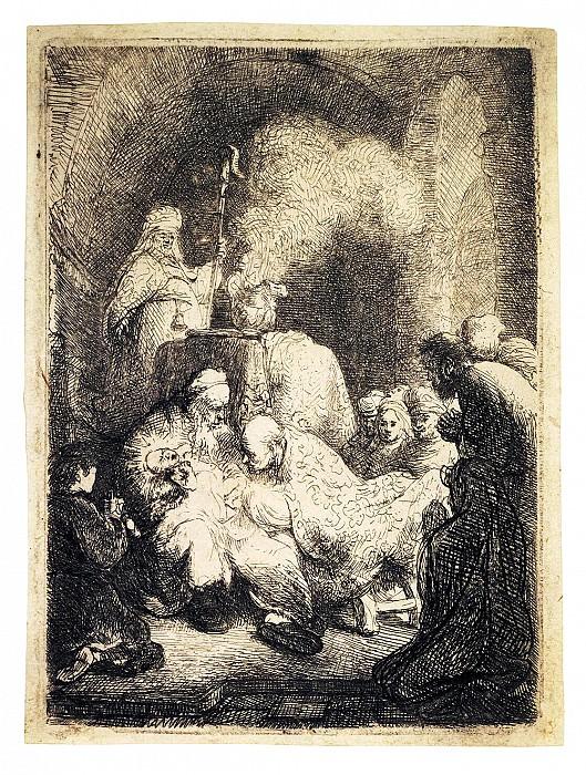 Rembrandt, Harmenszoon van Rijn - Circumcision. Hermitage ~ part 10