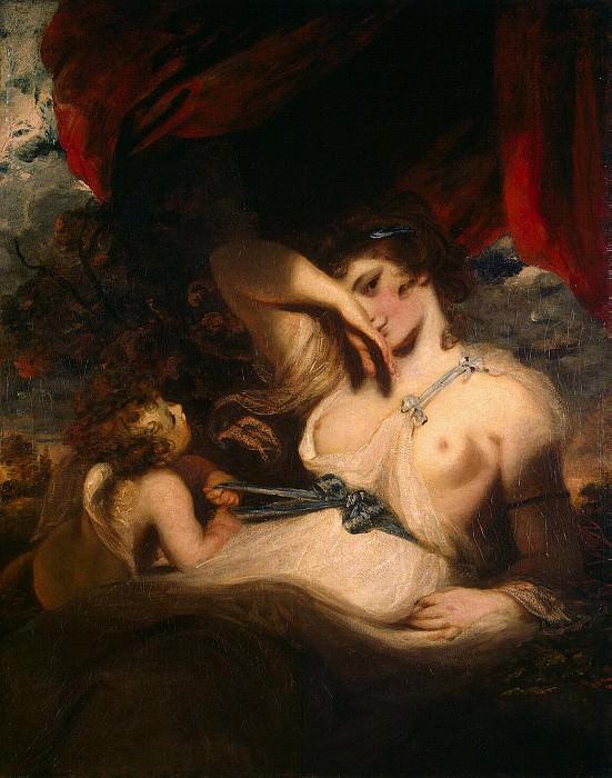 Reynolds, Joshua - Cupid Untying the Girdle of Venus. Hermitage ~ part 10