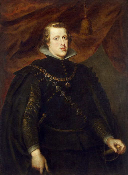 Rubens, Peter Paul - Portrait of King Philip IV. Hermitage ~ part 10