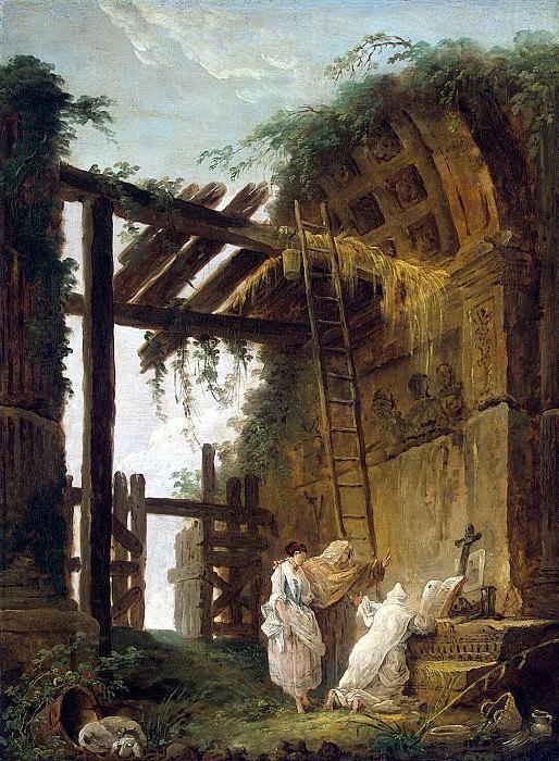 Robert, Hubert - Do hermit. Hermitage ~ part 10