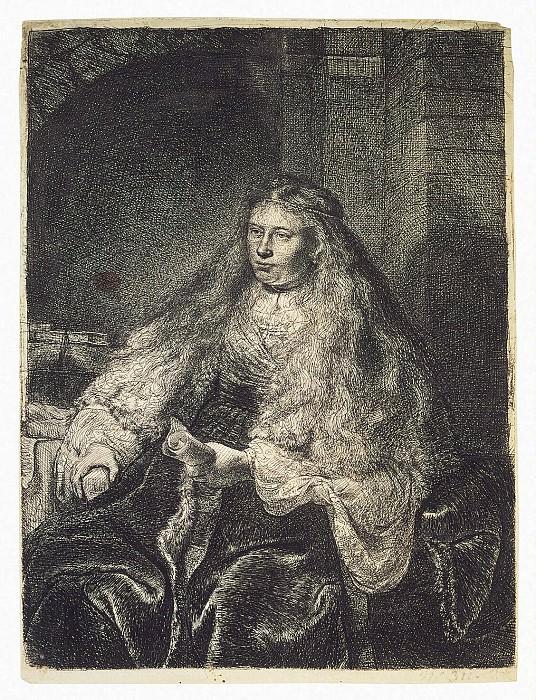 Рембрандт Харменс ван Рейн - Большая еврейская невеста. Эрмитаж ~ часть 10