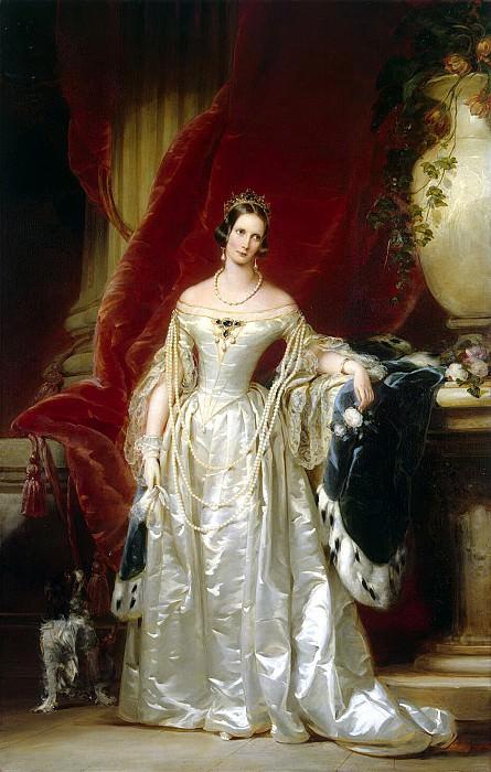 Robertson, Christina - Portrait of Empress Alexandra Feodorovna. Hermitage ~ part 10