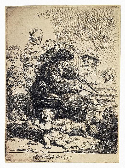 Rembrandt, Harmenszoon van Rijn - Blinschitsa. Hermitage ~ part 10