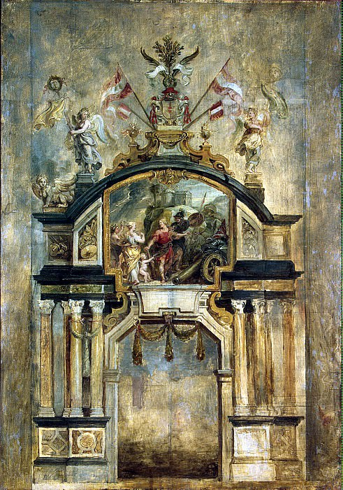 Rubens, Peter Paul - Arch of Hercules. Hermitage ~ part 10
