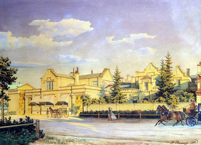 Premazzi, Luigi - Cityscape. Hermitage ~ part 10