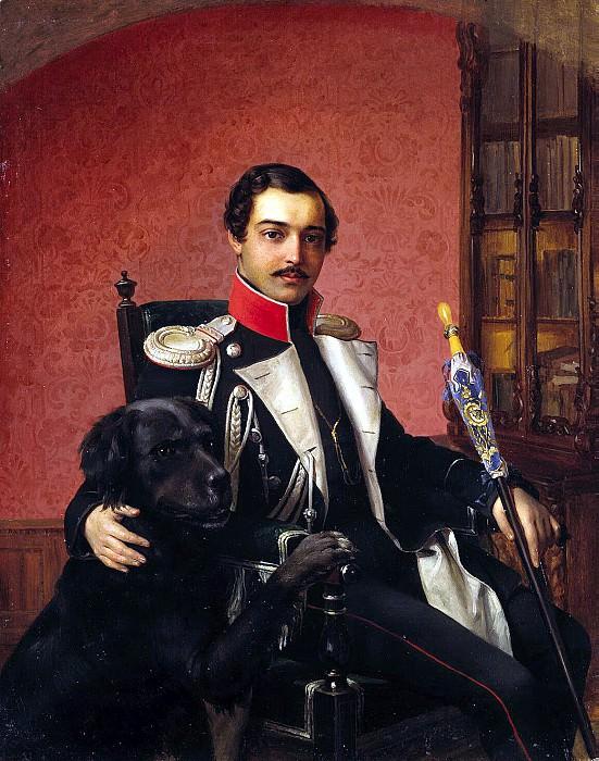 Raev, Vasily Egorovich - Portrait IA Balasheva. Hermitage ~ part 10