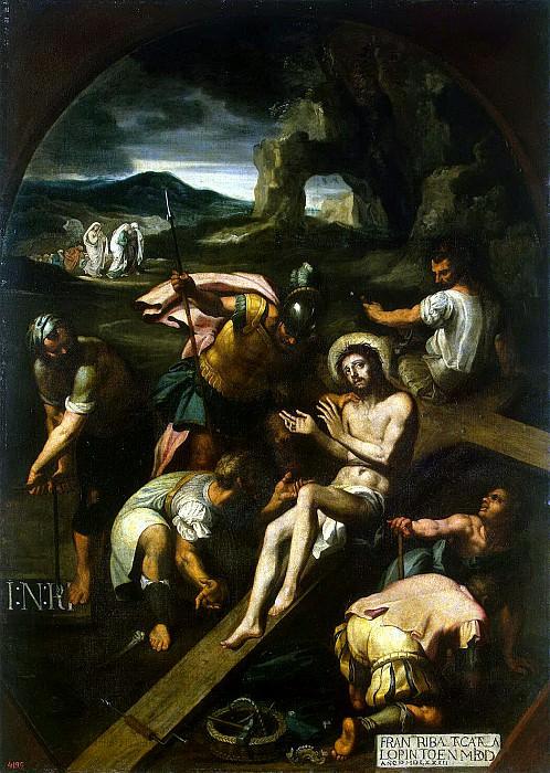 Ribalta, Francisco - Nailing to the cross. Hermitage ~ part 10