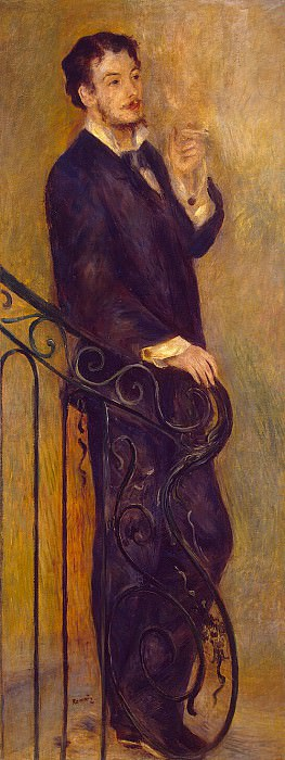 Renoir, Pierre-Auguste - The man on the stairs. Hermitage ~ part 10
