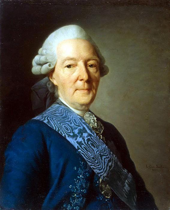 Roslin, Alexander - Portrait of Ivan Ivanovich Betsky. Hermitage ~ part 10