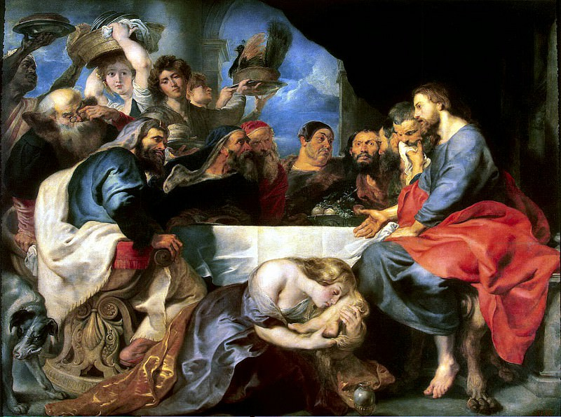 Rubens, Peter Paul - Feast at Simon the Pharisee. Hermitage ~ part 10
