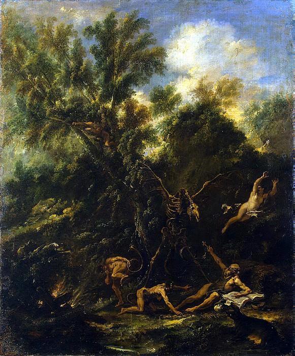 Ricci, Sebastiano Perutstsini, Antonio Francesco - Temptation St. Anthony. Hermitage ~ part 10