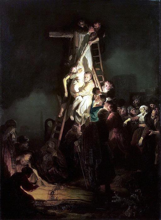 Rembrandt, Harmenszoon van Rijn - Descent from the Cross. Hermitage ~ part 10