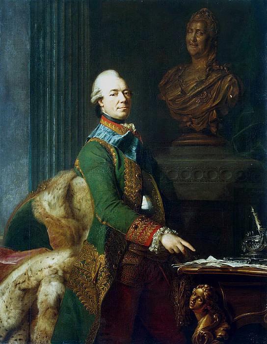 Roslin, Alexander - Portrait of Count Zakhar Chernyshev. Hermitage ~ part 10
