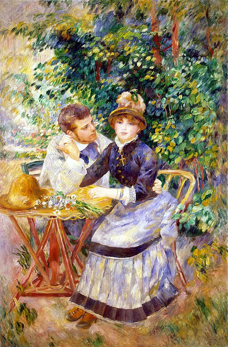 Renoir, Pierre-Auguste - In the garden. Hermitage ~ part 10