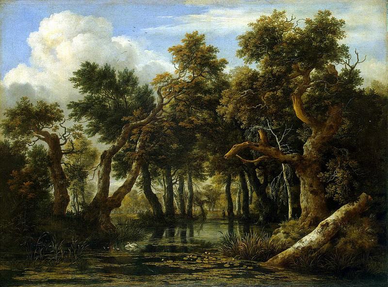 Ruisdael, Jacob van ai - Bog. Hermitage ~ part 10