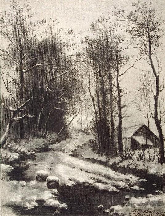 Reinhart, T. - Winter Landscape. Hermitage ~ part 10