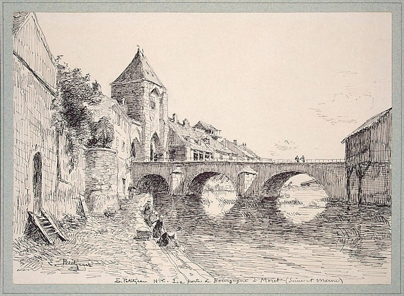 Ptizhan, Edmond - Type Burgundian Gate in the city Mare. Hermitage ~ part 10