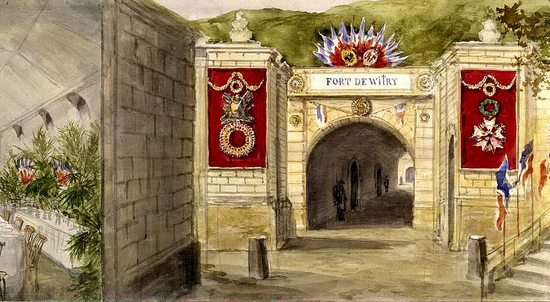 Piasecki, Pavel Ya - The entrance to the fort Vitry. Hermitage ~ part 10
