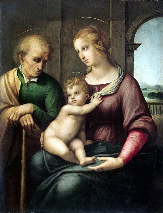 Raphael - The Holy Family. Hermitage ~ part 10