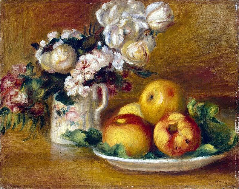 Ренуар, Пьер Огюст - Яблоки и цветы. Эрмитаж ~ часть 10