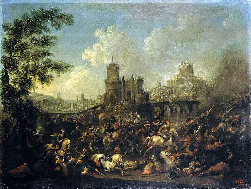 Rubens, Arnold Frans - Battle Turks with the Poles. Hermitage ~ part 10