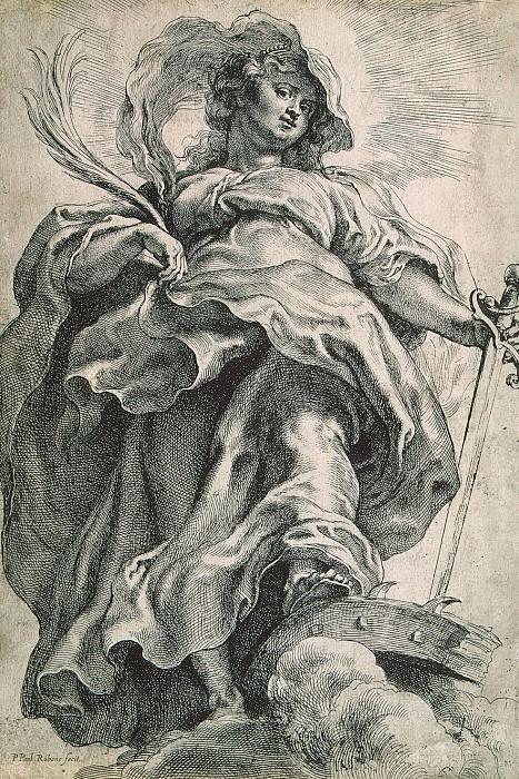 Rubens, Peter Paul - St. Catherine of Alexandria. Hermitage ~ part 10