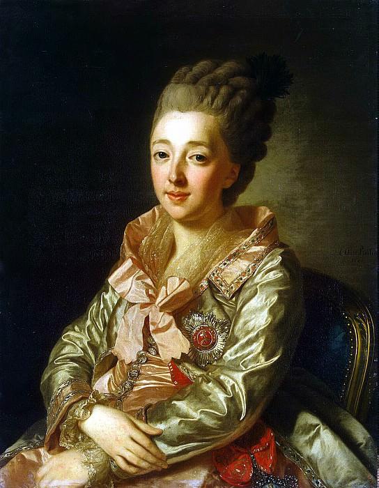 Roslin, Alexander - Portrait of Grand Duchess Natalia Alexeevna (2). Hermitage ~ part 10