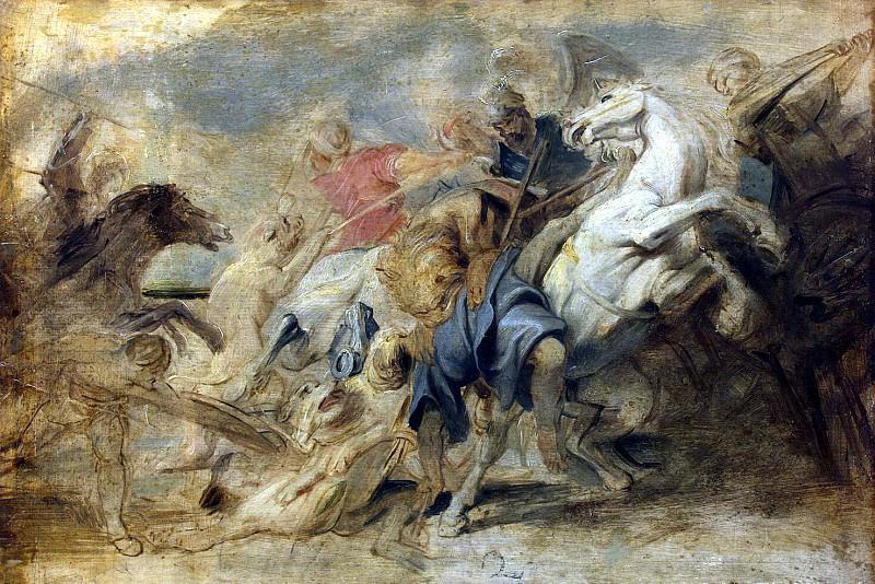 Lion Hunt. Peter Paul Rubens