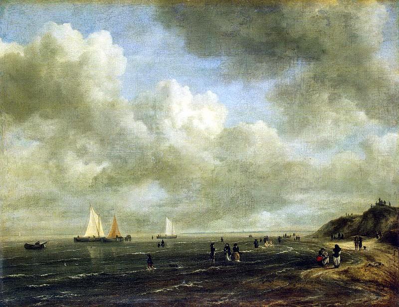 Ruisdael, Jacob van ai - Seashore. Hermitage ~ part 10