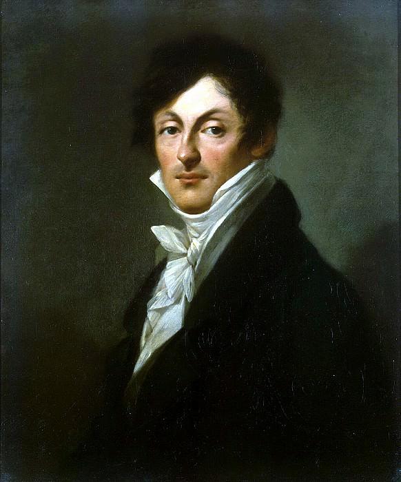 Prudhon, Pierre Paul - Portrait of Count AI Osterman-Tolstoi. Hermitage ~ part 10