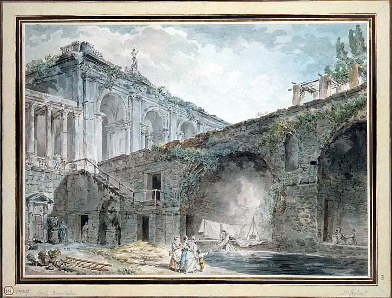 Robert, Hubert - Villa Madama. Hermitage ~ part 10